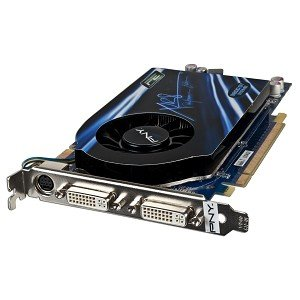 (512MB GeForce 9800GT DDR3 Dual DVI Video Card w/TV-out PCI Express PCI-E J359K)
