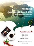 King Coffee Espresso Instant Coffee 15 sticks (pack of 1 box)   Strong & Full Body Taste, Undeniable Espresso for Coffee Lovers