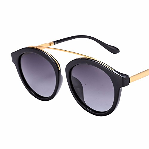 cool alto solo brillo gafas sol color de retro El Morado de alto de de Gafas chica brillo sol azul nariz XIAOGEGE la UI0qvv