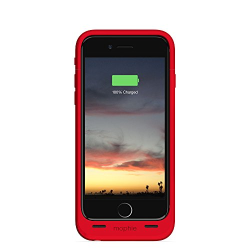 mophie juice pack air - Slim Protective Mobile Battery Pack Case for iPhone 6/6s - Red by mophie