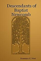 Descendants of Baptist Newcomb