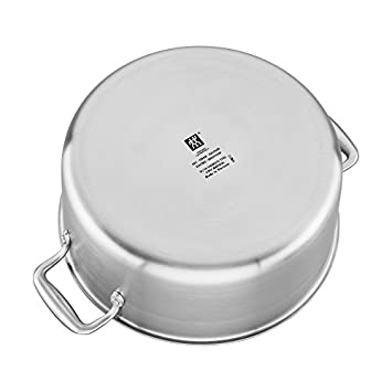 ZWILLING J.A. Henckels Zwilling spirit 3-ply 8-qt stainless steel ceramic nonstick stock pot, 5 Pound