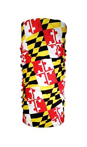 Maryland State Flag Tube Scarf