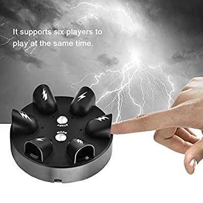 Lie Detector Polygraph Test Mini Electric Shock Game Roulette Truth or Dare Decompression Fun Toy Party Table Game Drinking Game: Toys & Games