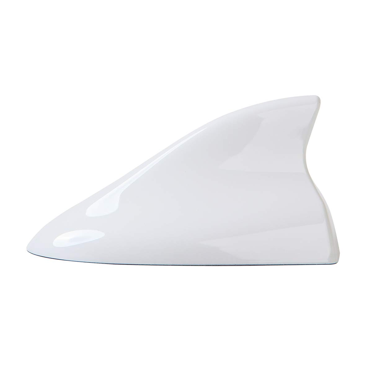 Ramble - Car Shark Fin Antenna, FM AM Radio Aerials, Auto Parts, for Hyundai IX25, IX35, IX45, Santafe, Tucson, Veracruz, I30 and I20 (Advanced Style, White)