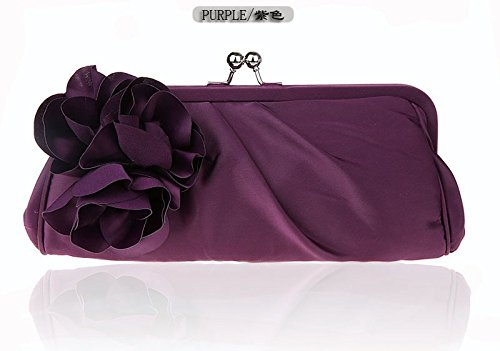 Flowers Docu Pack Package Female Package A Square Handbag Purple Cross Klxeb Square Beautiful Package Mobile Girl Small Handbag Women Floral Damask Package The Bag Dinner Package SxEqZf