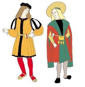 Early Tudor (1500-1520s) Man's Gown & Jerkin Pattern -