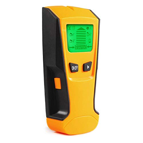 Stud Finder Wall Detector - EONLION Goldpar Electric Multi Function Wall Scanner Finders with Digital LCD Display, Center Finding Stud Sensor, Metal Stud & Live AC Wire & Wood Scanner Detection -