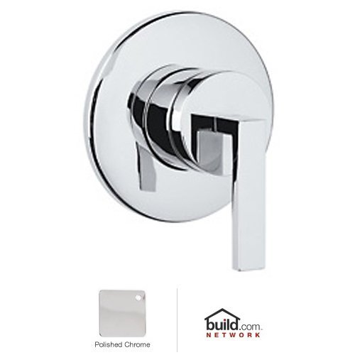 Rohl WA27L-APC/TO Wave 4 Port, 3 Way Diverter with Lever, Polished Chrome - Rohl 4 Port 3 Way