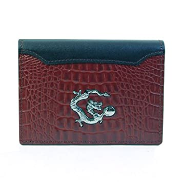 Etui Cuir Pour Cartes De Visite Crdit Marron DRAGON