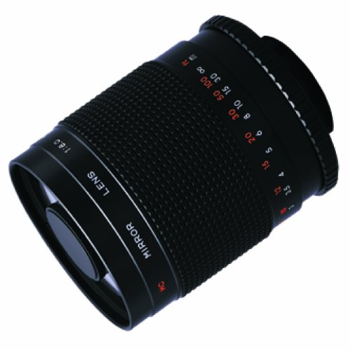 Bower High-Power 500mm f/8.0 Telephoto Mirror Lens (SLY5008)