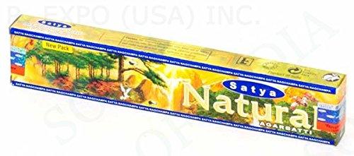 Natural Brand From Satya - 45 Gram Box - Satya Sai Baba Incense