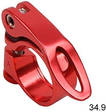 Red 31.8 Reuvv Collier de Serrage pour Tige de Selle de v/élo en Alliage daluminium /à d/égagement Rapide 28,6//31,8//34,9 mm