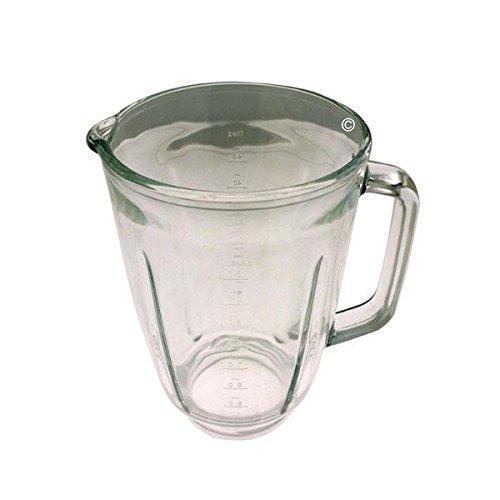 Cuenco para licuadora de vidrio, 1,5 L, para robot de cocina ...