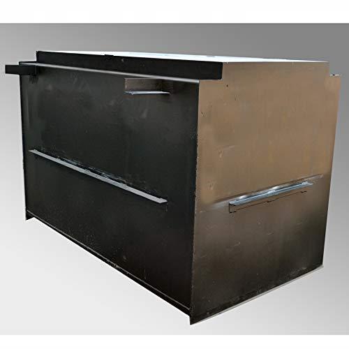 SteelSafe 4x7 Below Ground in Garage Storm Shelter | Steel Storm Shelter (Best Underground Storm Shelter)