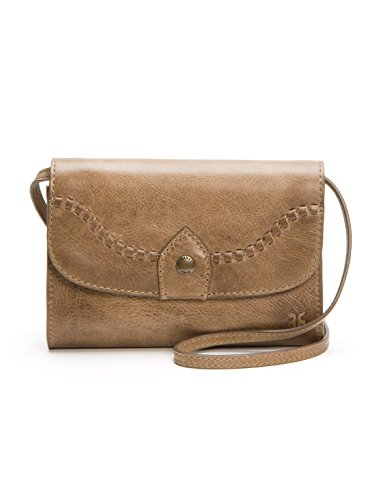 Frye Melissa Whipstitch Crossbody, Dark Taupe by FRYE