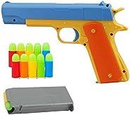 Toy Gun Realistic 1:1 Scale Colt 1911 Rubber Bullet Pistol
