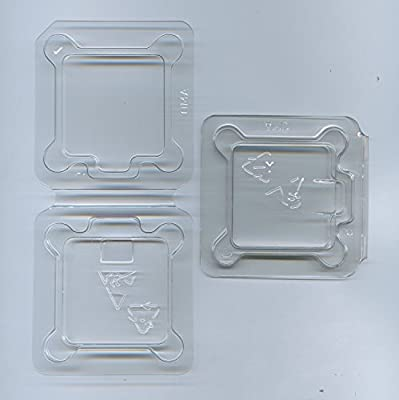 2x Computer CPU Packaging ClamShell Container for FOR AMD - AM2, AM2+, AM3, AM3+