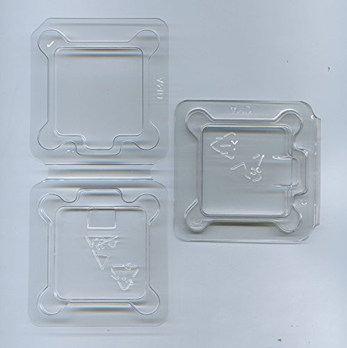2x Computer CPU Packaging ClamShell Container for FOR AMD - AM2, AM2+, AM3, AM3+ (Esd Packaging compare prices)