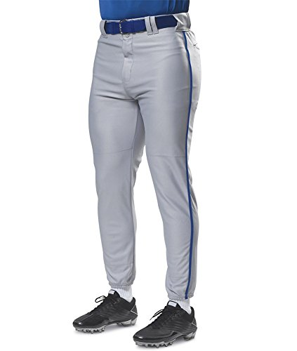 picture of A4 Adult Pro Style Elastic Bottom Baseball Pant - White - S