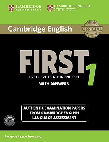 Cambridge English First 1 for updated exam: Student's Book with answers and 2 Audio-CDs