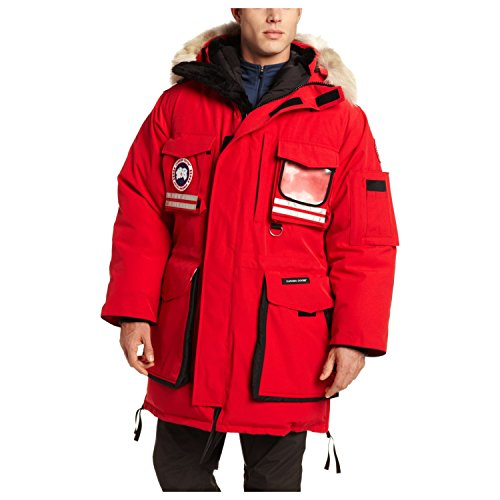 Canada Goose Snow Mantra Parka, Red, Medium (Goosedown Canada)