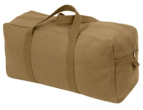 Rothco Canvas Tanker Style Tool Bag, Coyote Brown