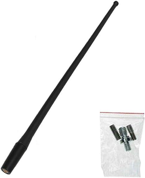 Qiilu Auto Antenne Antenna per antenna di ricambio per auto da 13 pollici per Wrangler JK JKU JL 2008-2017
