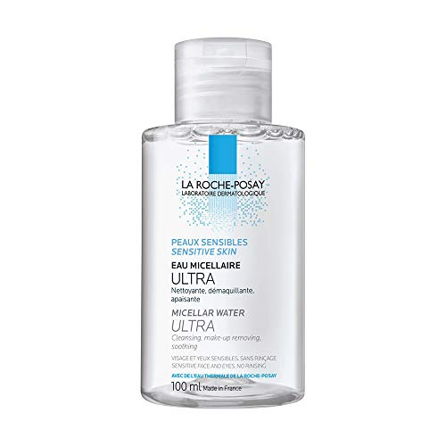 (La Roche-Posay Micellar Cleansing Water for Sensitive Skin, 3.38 Fl. Oz.)