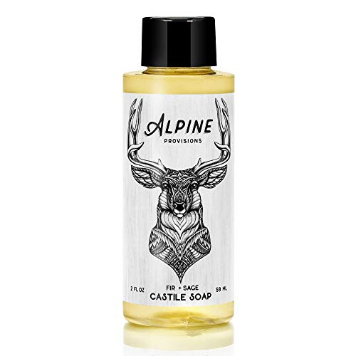 Alpine Provisions Castile Soap - Fir + Sage - 2oz- 12 pack (Pangea Organics Organic Soap)