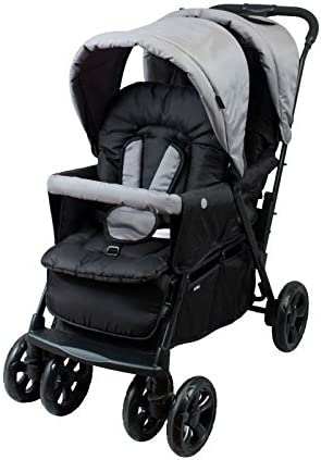 BAMBISOL Poussette double multipositions Tango II - 0 a 36 mois