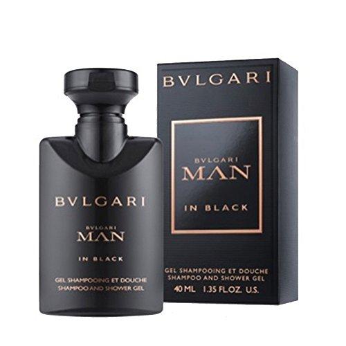 Bvlgari Man In Black Shampoo and Shower Gel 40ml 1.35oz (Travel - Bvlgari Buy