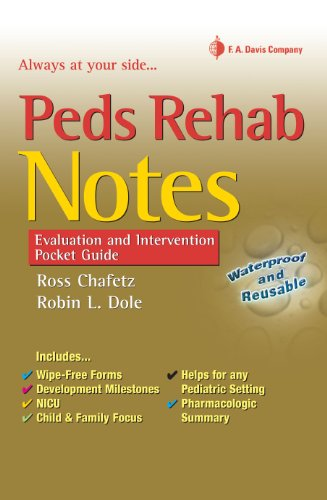 - Peds Rehab Notes: Evaluation and Intervention Pocket Guide (Davis's Notes Book)