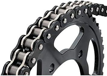 530 X 120 BikeMaster 530 BMZR Series Motorcycle Chain Black//Gold