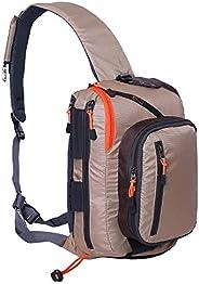 Kylebooker Fly Fishing Sling Packs Fishing Tackle Storage Shoulder Bag