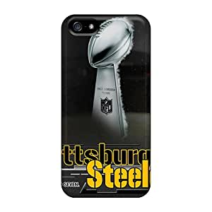 New Style Pchcse Hard Case Cover For Iphone 5/5s- Pittsburgh Steelers
