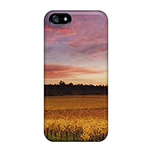Iphone 5/5s Case, Premium Protective Case With Awesome Look - Vines In Russian River Valley California