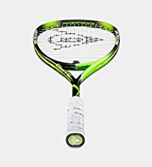 The new Dunlop Precision Elite has been added with Hyperfibre +(HF) technology which gives extra stability and torsional stiffness in the center of the blade. This racquet has the perfect mix between power and control from the Dunlop Precisio...