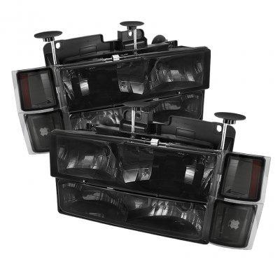 Spyder Auto HD-JH-CCK88-AM-SM-SET Crystal Headlight