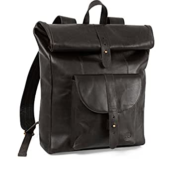 Timberland Calexico Roll Top Backpack, Black, One Size