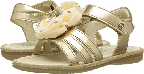 Naturino Baby Girl's 3507 SS18 (Toddler/Little Kid/Big Kid) Gold 28 M EU
