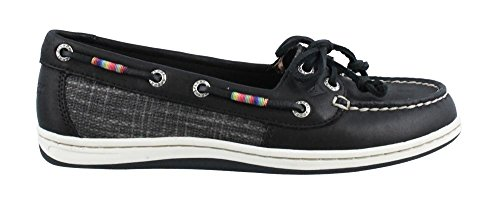 Sperry Top-Sider Women's Firefish Leather Rainbow Black Oxford (Sperry Rainbow)