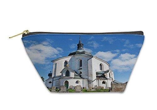 Gear New Accessory Zipper Pouch, Church St John NepomUK Zelenhorunescozdar Nad Sazavou Czech, Small, 6008044GN by Gear New