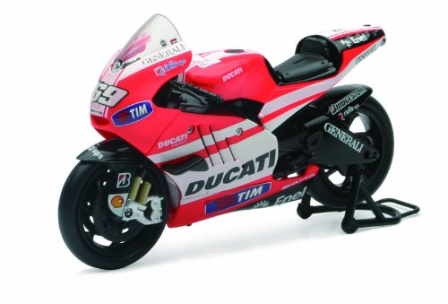 New Ray Toys Street Bike 1:12 Scale Motorcycle - Ducati MotoGP Nicky Hayden 57073 -