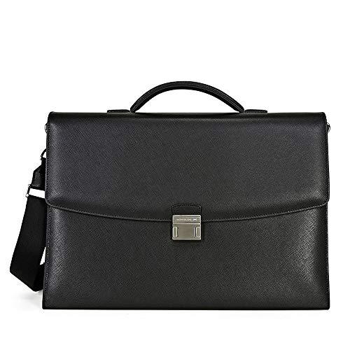Montblanc Messenger Bag, Black (Schwarz), 40 centimeters