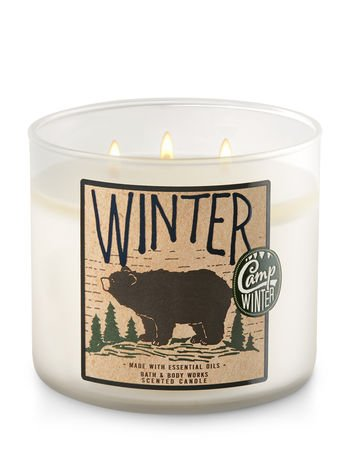 Bath and Body Works Winter 2017 Candle 3 Wick 14.5 Ounce (Winter Scents)