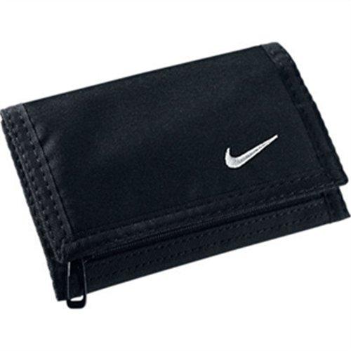 Nike Acc Basic Wallet 09 Cartera-Monedero, Hombre, Negro/Blanco: Amazon.es: Deportes y aire libre