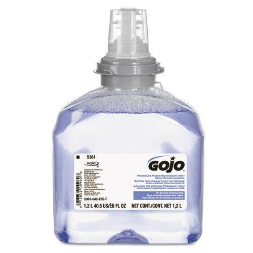 GOJ536102 TFX Luxury Foam Hand Wash, Fresh Scent, Dispenser, 1200ml
