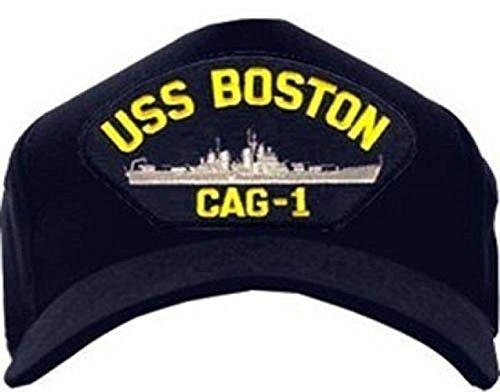 USS Boston cag-1 Navy Ship Ball Cap
