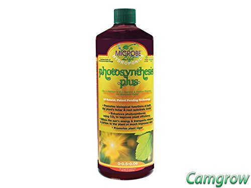 Microbe Life Hydroponics PH21227 Photosynthesis Plus Microbial Inoculant Fermented Microbial Product for Hydroponics Soil Conditioning and Aquaponics (32 Ounce) ()